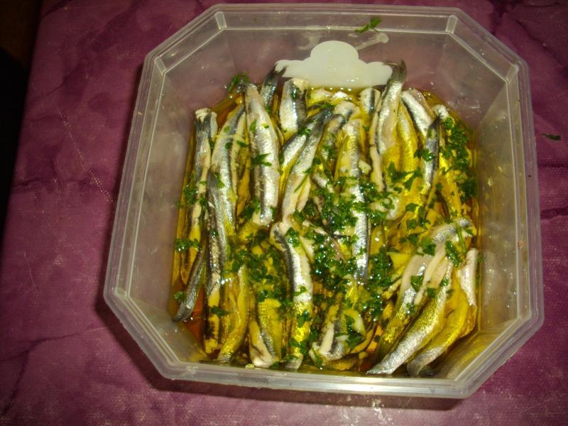 Recette anchois marins au vinaigre blanc recette anchois marins au vinaigre blanc apritifs et - Recette desherbant vinaigre blanc ...