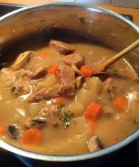 Recette blanquette de veau l 39 ancienne aux oignons grelots recette blanquette de veau l - Recette de cuisine blanquette de veau ...