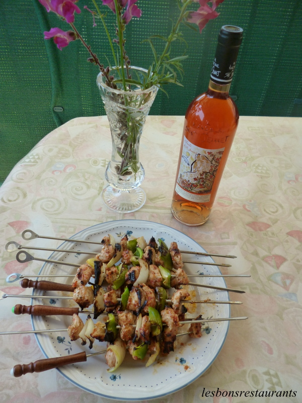 Brochettes à la Mexicaine