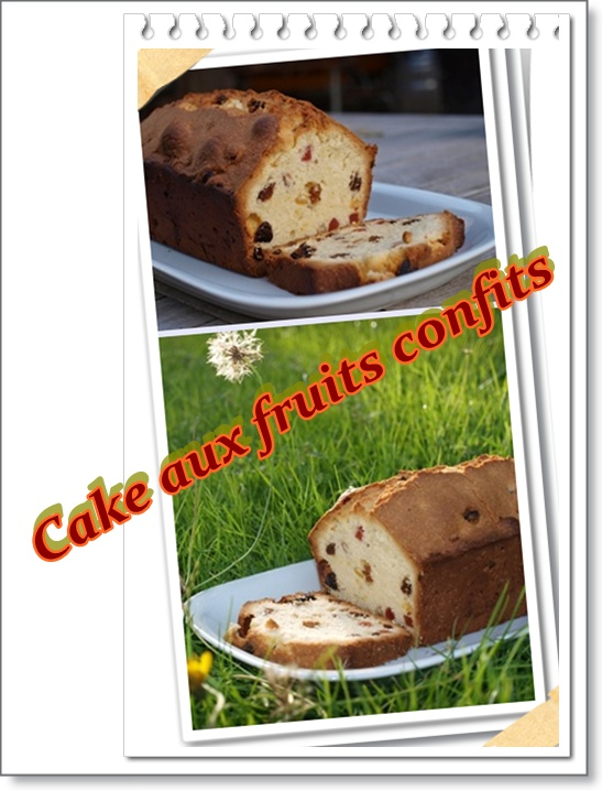 recette cake aux fruits confits et raisins secs recette cake aux fruits confits et raisins secs. Black Bedroom Furniture Sets. Home Design Ideas