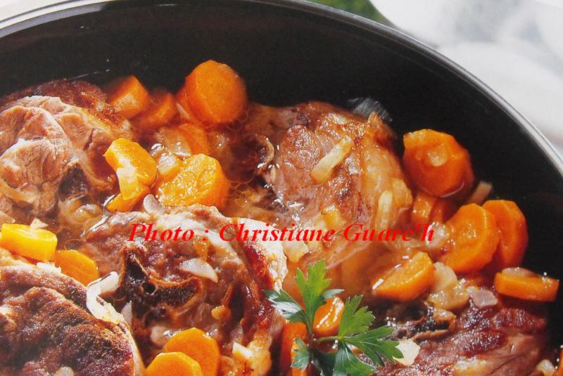 Recette collier d 39 agneau aux carottes recette collier d - Cuisiner du collier d agneau ...