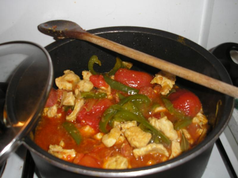 Recette filets de poulet fa on basquaise recette filets de poulet fa on basquaise plat avec photo - Filet de poulet grille recette ...