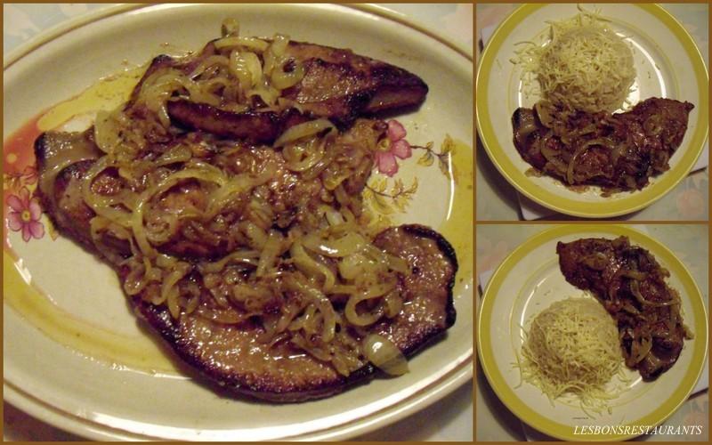 Recette foie de veau aux oignons recette foie de veau aux oignons plat avec photo - Recette foie de veau poele ...