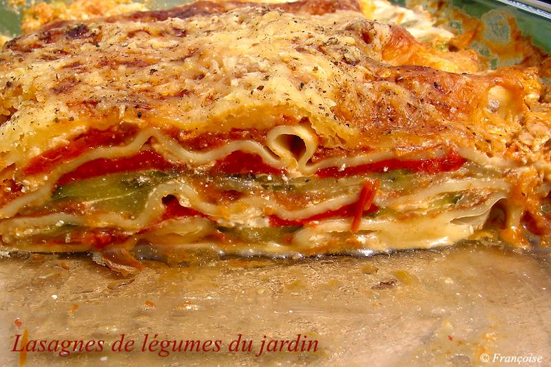 recette lasagnes de l gumes du jardin recette lasagnes de l gumes du jardin accompagnement. Black Bedroom Furniture Sets. Home Design Ideas