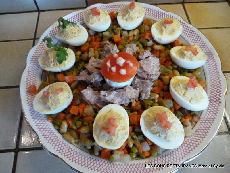 Recette oeufs mimosa au thon recette oeufs mimosa au thon entre avec photo - Recette avec oeuf dur ...