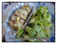 recette pommes de terre au four au reblochon et jambon blanc recette pommes de terre au four au. Black Bedroom Furniture Sets. Home Design Ideas