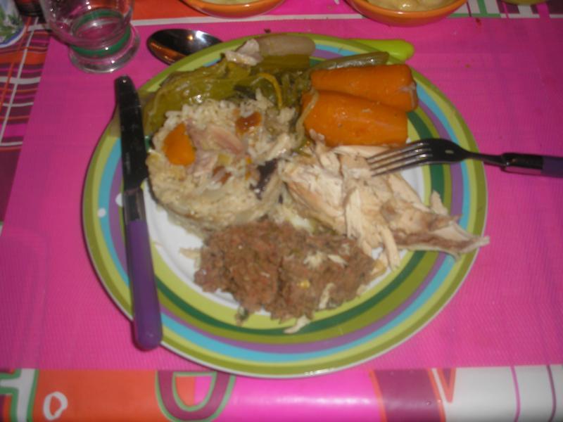 recette poule au pot farcie recette poule au pot farcie plat avec photo