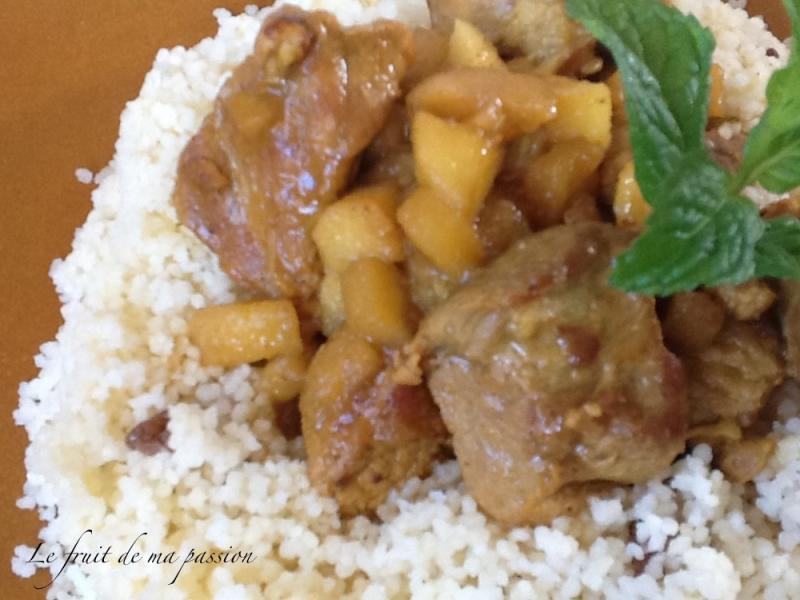 recette saut de porc au curry et aux pommes semoule aux raisins secs recette saut de porc au. Black Bedroom Furniture Sets. Home Design Ideas