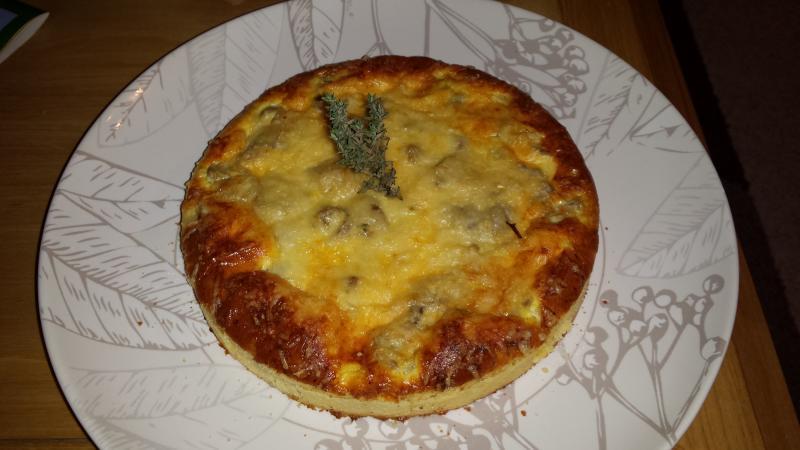 recette tarte aux champignons recette tarte aux. Black Bedroom Furniture Sets. Home Design Ideas