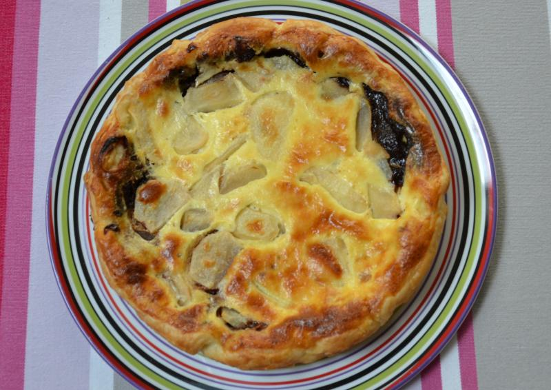 Recette tarte aux poires et au chocolat recette tarte aux poires et au chocolat dessert avec photo - Recette tarte aux chocolat ...